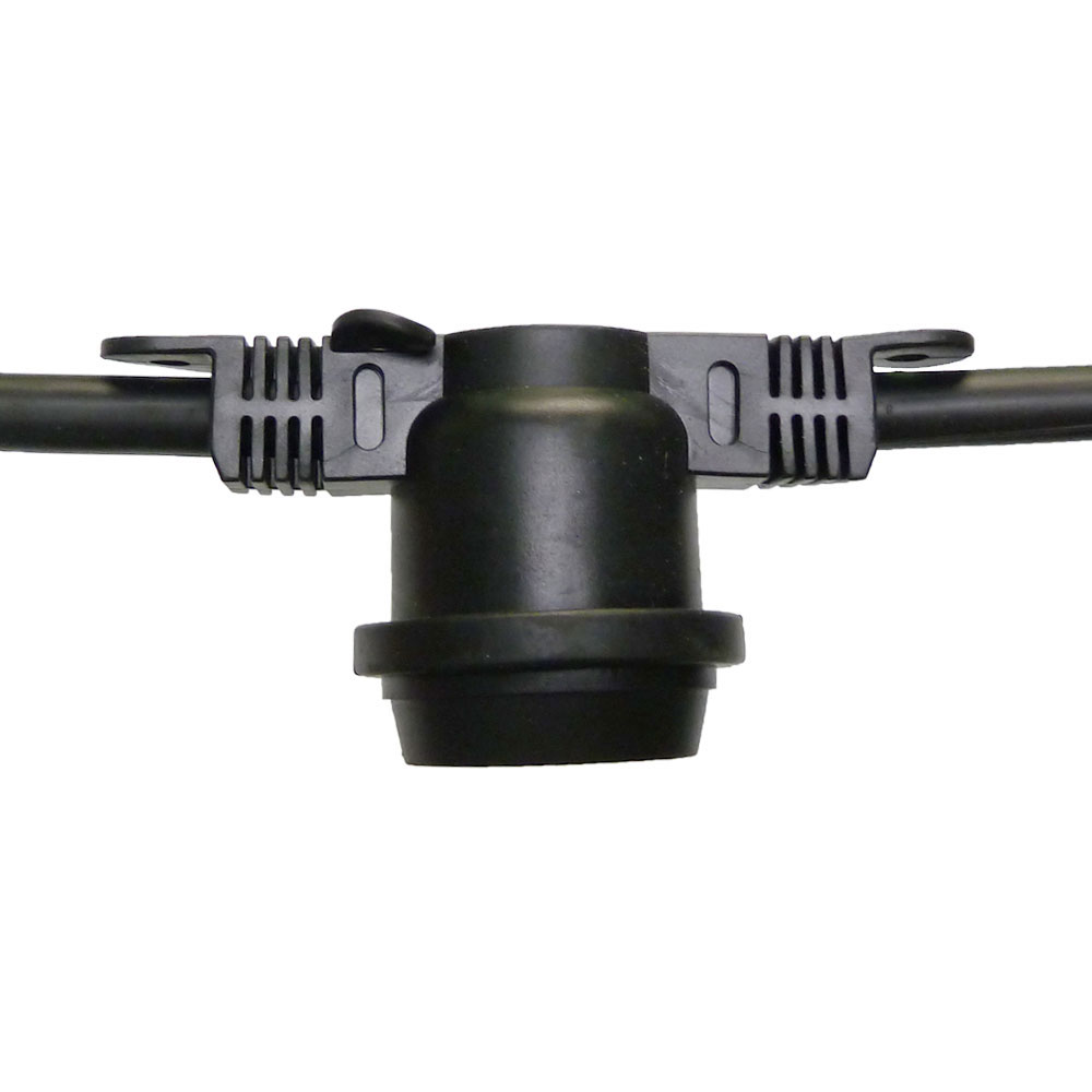 LED S14 Light Bulb Medium Base Faceted Bulb Cool