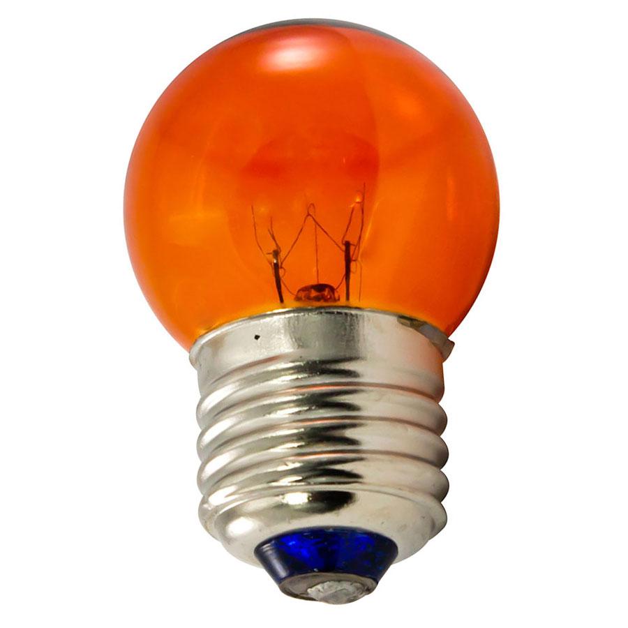 String light company incandescent light bulb pack of 25 - Amber S11 Medium Base String Light Bulb 7 5w 25 Pack