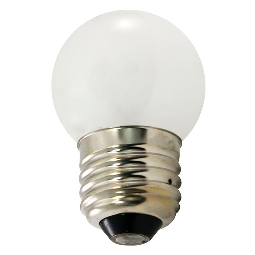7.5 Watt Frosted S11 Medium Base String Light Bulb