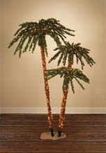 4-5-6 Ft. Palm Tree Cluster