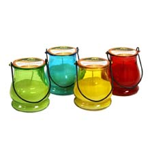 Jay Trends Lantern Jar Citronella Candle