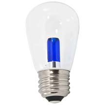 Blue LED Professional S14 Light Bulbs