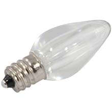 Clear White LED C7 Linear Light Strand Bulbs
