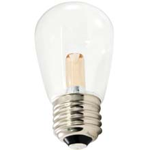 Warm White LED Professional S14 Light Bulbs