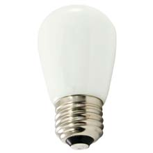 Frosted Warm White LED Professional S14 Light Bulbs