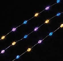 LED Acrylic Shamrock Battery Operated Party String Lights