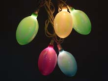 Pearlized Easter Egg Novelty Party Lights