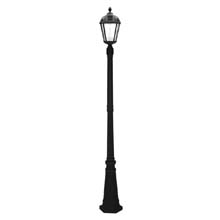 Royal Black Lamp Post Solar Light