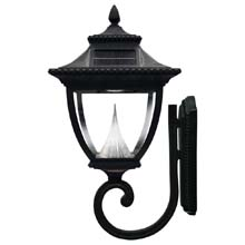 Pagoda Solar Wall Lamp Light