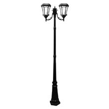 Victorian Double Lamp Post Solar Light