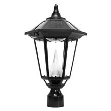"Windsor Solar LED Lantern Light - 3"" Pole Mount"