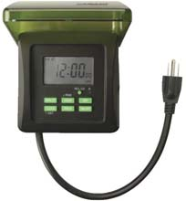8.3A Outdoor Timer with Photo Cell 563803