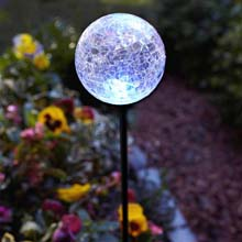 Solar Powered Stake Light - Multi Color