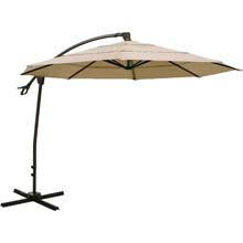 10' Aluminum Offset Patio Umbrella