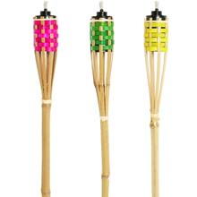 4' Bamboo Party Patio Torch
