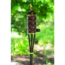 5' Square Bamboo Patio Torch