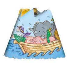 Noah's Ark Revolving Spin Shade Night Light 02529