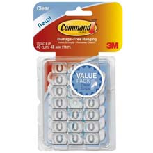Command Decorating Adhesive Clip 601771