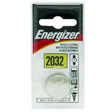 Energizer CR2032 Lithium Button Battery 819123