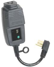 Single Outlet Outdoor Digital Power Timer w/ Photocell