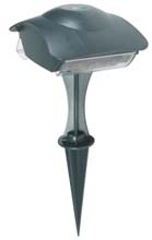 Outdoor Power Stake w/ Digital Timer & Photo Cell