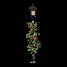 Luminara Decorative Lamp Post w/ Garland