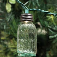 Mason Jar Party String Lights