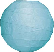 "Ice 14"" Round Rice Paper Lantern L14IC"