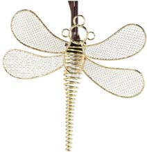 Wire Mesh Dragonfly Party String Lights