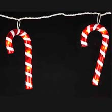 Candy Cane Party String Lights UL1264