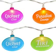 Tiki Lounge Party String Lights