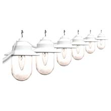 Clear Savannah 6 Globe String Light Set