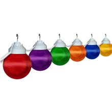 "6"" Prismatic Multi-Color Globe String Light Set"