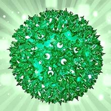 Green Starlight Sphere Party Light