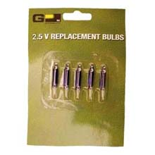 Blue Replacement String Light Bulbs - 2.5V