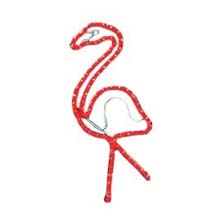 2' Flamingo Rope Light Motif