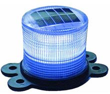 Blue Solar Marine Light - 4-3/10""