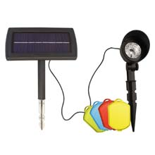4-Color Solar Spot Light
