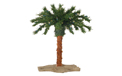 "15"" Pre Lit Palm Tree - 20 Clear Lights - 3210-15C"