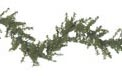Pre-Lit Artificial Christmas Garlands - Christmas Trees, Lights & Decorations