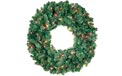 Pre-Lit Artificial Christmas Wreaths - Christmas Trees, Lights & Decorations