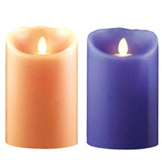 "5"" Luminara Flameless Candles"