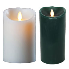 "9"" Luminara Flameless Candles"