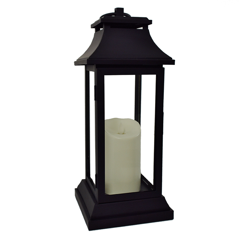 Luminara Battery Operated Flameless Candle Lantern - 15