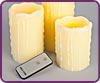 Remote Controlled Battery Operated Flameless Candles