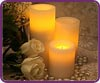 Round Pillars Battery Operated Flameless Candles