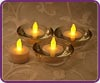 Tea Lights/Votives Battery Operated Flameless Candles