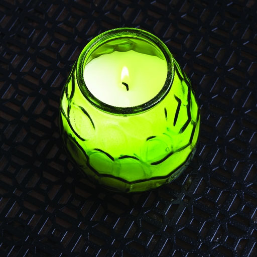 Glass Citronella Candles - 12 Pack
