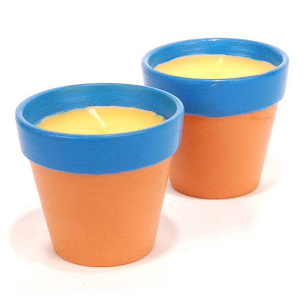 Sierra Terra Cotta Citronella Candles