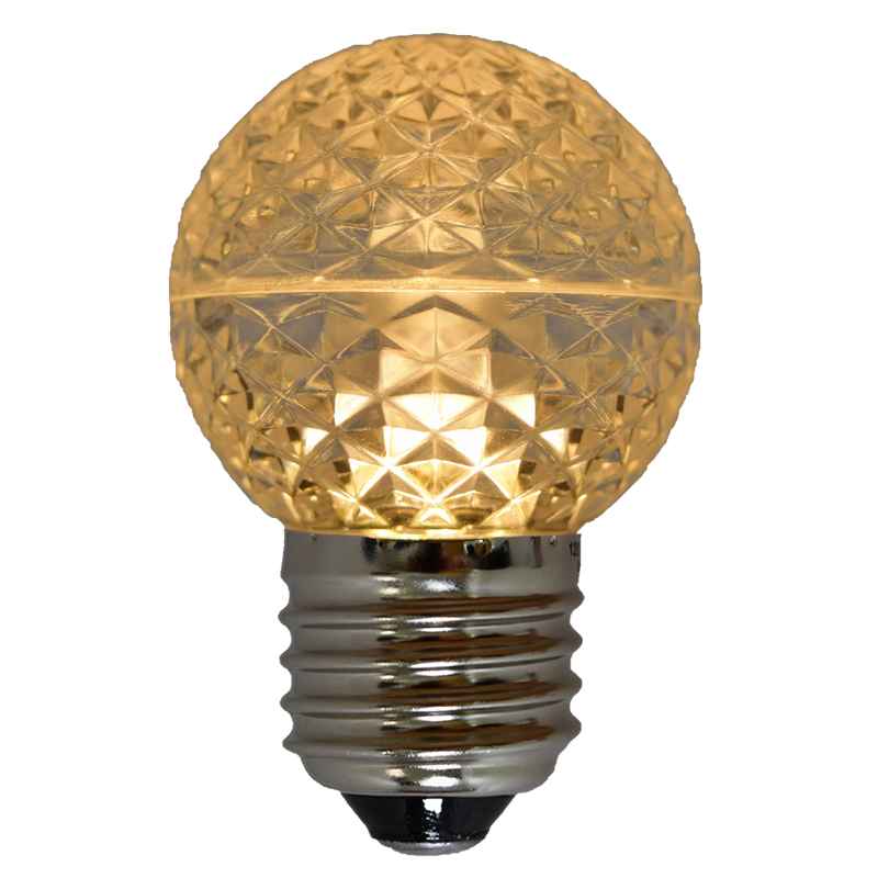 Awesome LED Globe Light Bulb G50 Sun Warm White/Faceted Good Looking